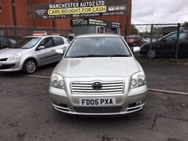 Toyota Avensis 1.8 VVT-i T3-X 5dr,automatic, FULL SERVICE HISTORY,