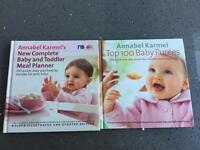 Annabelle Karmel's Baby Recipe Books