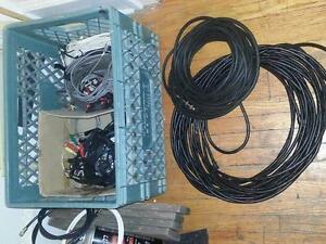 Cables, ends, adapters etc