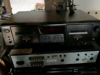 Sony TC-WE475 tape deck for seperates system