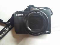 Canon PowerShot G1 X Mark II and 32g card - all new (have used less than 10 times)