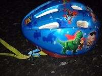 Boys and girls available cycle helmets