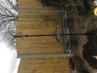 Waitrose garden bird feeder with squirrel baffle