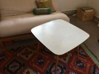 Vintage Retro Coffee Square Table Mid Century Jese Mobel Designer