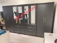 Brand new wardrobe furniture ready assembled