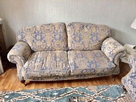 2 x 3 Seater sofa and Storage Foot stall