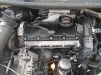 vw golf 1.9 tdi complte engine