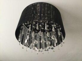 2 x pendant ceiling lights + tall lamp