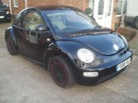 VW Beetle 2001 In Black 1.6cc