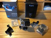 Go Pro Hero Silver 4 Camera with accessories