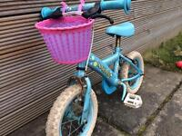 Apollo kid's bike with stabilisers