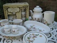 32 piece Marks and Spencer Autumn Leaves crockery