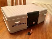'Cathedral' Key Locking Safe
