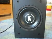 Active Subwoofer + 3m QED Cable