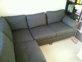 Corner sofabed _ free delivery