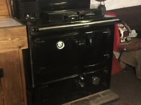 Rayburn Royal Solid Fuel LH Oven Heats water and 5 Radiators