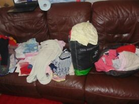 giant bundle of baby girls clothes from 3-6 to 3 years
