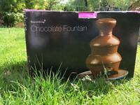 Chocolate fountain - as new