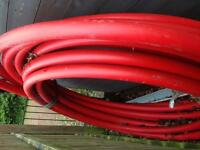 Electric Cable Duct and water mains pipe