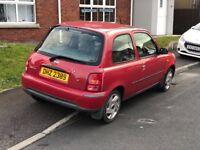2002 Nissan Micra 1.0l for sale