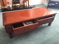 Hardwood Coffee Table