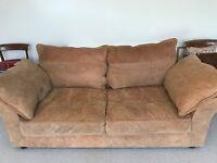 Beautiful Nubuck Colin's & Hayes designer sofa