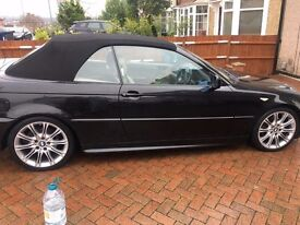 BMW 320ci AUTO MSPORT convertible ** LOADED OUTSTANDING**