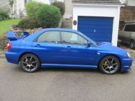 Subaru Impreza WRX 2002 12 month MOT (v low mileage, good spec)