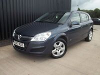 2007 Vauxhall Astra 1.4 i 16v Club 5dr 2 Keys, Free MOT For Life* May Px