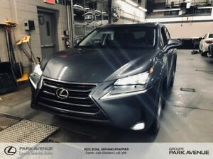 2016 Lexus NX 200t *LUXURY * AWD * GPS * CAMERA * TOIT *