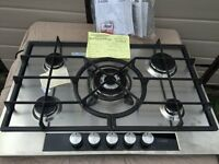 AEG 5 Burner Gas Hob Stainless Steel BRAND NEW