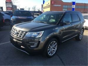 2017 Ford Explorer FORD DEMO, 0% FINANCE, TOW PKG!