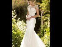 Stunning True Bride Wedding Dress size 10/12-£250