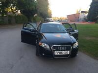 AUDI A4 S-LINE BLACK COLOUR PREVIOUS TWO OWNERS