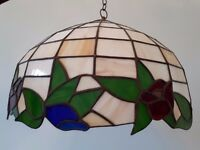 Custom Tiffany ceiling lamp shade