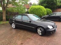 Mercedes c200 cdi Automatic avantgarde 56 plate long mot