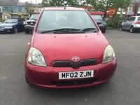 Toyota Yaris 1.0 VVT-i 16v GS 3dr IDEAL FIRST CAR
