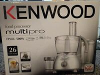 Kenwood Food processor in brand new conndition for immediate Sale