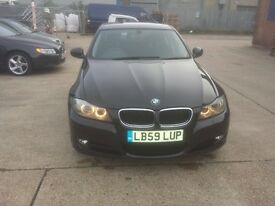 Black BMW 318d very good condition 59 plate