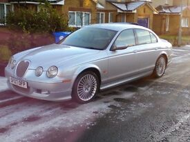 RARE JAGUAR S-TYPE 2.7D V6 XS WITH FACTORY FITTED BODY KIT