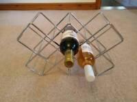 Wine rack for 8 bottles