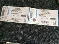 X2 Ed Sheeran Tickets Belfast