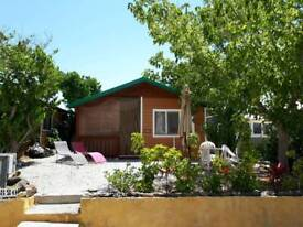Log Cabin in Spain 2 Double Bedrooms includes everything you need to move into