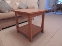 'Bose' Light Oak Coffee/Lamp Table
