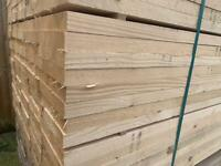 Untreated German white wood scaffold board (3 sizes available)