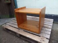 Small Side Table on Wheels Delivery Available £8