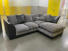 Grey modern L shape sofa, Free delivery