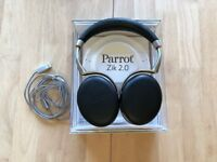 Parrot Zik 2.0 - Black, with original cables and box