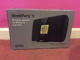 Gear 4 speaker (Street party 5)