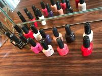 Shellac CND colours some not been opened